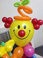 Клоун с букетом, фото 1