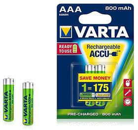 Аккумулятор R2U  Micro 800mAh 1.2V-HR03/AAA (2шт)