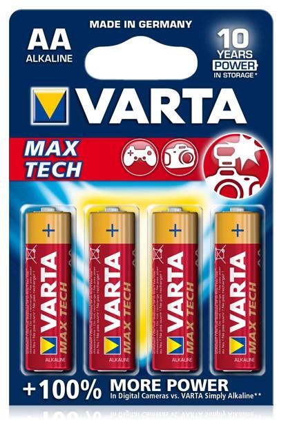 Батарейка Maxi-Tech Mignon 1.5V - LR6/AA (4 шт)