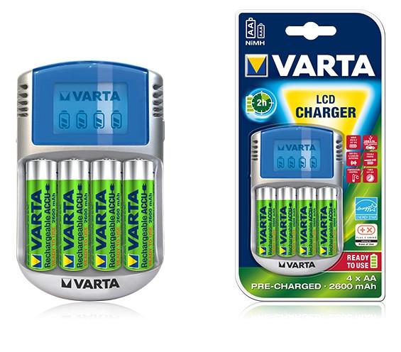 Зарядное устройство LCD Charger 4х2600mAh (57070)