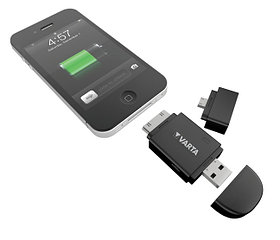 Зарядное устройство Mini  Powerpack (57916) цв черный