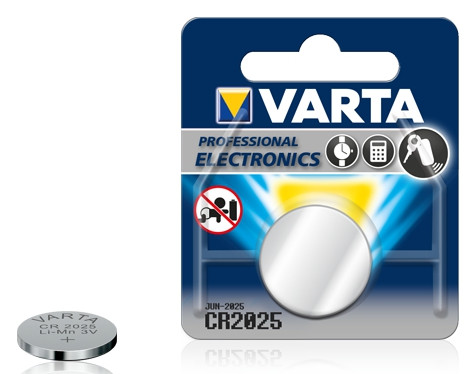 Батарейка Electronics CR2025  3V-170mAh (1 шт)