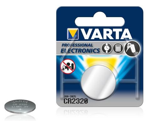 Батарейка Electronics CR2320  3V-135mAh (1 шт)