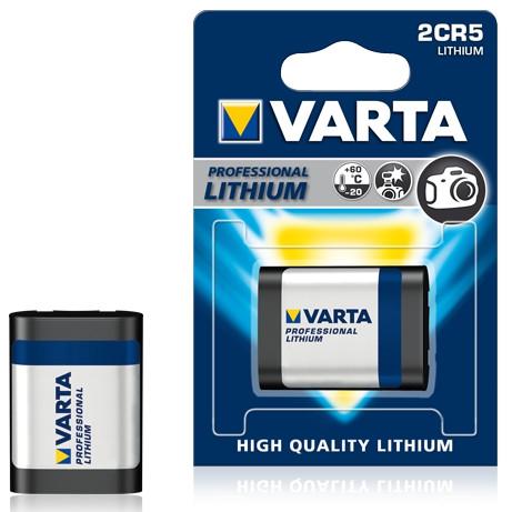 Prof Фото литиевая батарейка 2CR5 - 6V  (1 шт)