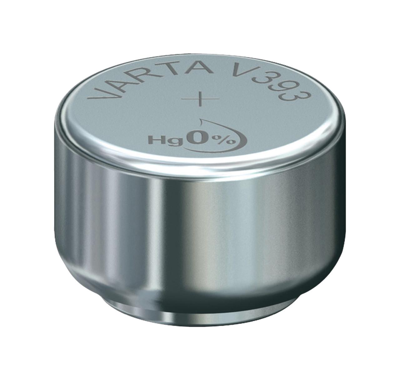 Часовая батарейка V393 - SR48  (10 шт)