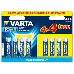 Батарейка High Energy Micro 1.5V-LR03/ AAA (6+2 шт)