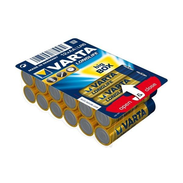 Батарейки Longlife AA BIG BOX (12 шт)