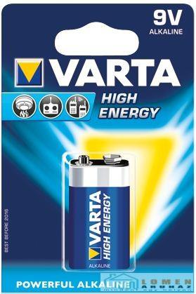 Батарейка High Energy E-Block 9V - 6LR61/  PP3 (1 шт) 6LP3146