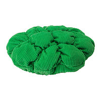 Чехол для табурета СТИККАТ зеленый ИКЕА, IKEA, фото 1