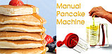 Миксер-дозатор механический Pancake Machine, фото 3