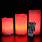 Электронные свечи (набор 3 шт.) с пультом управления, фото 3