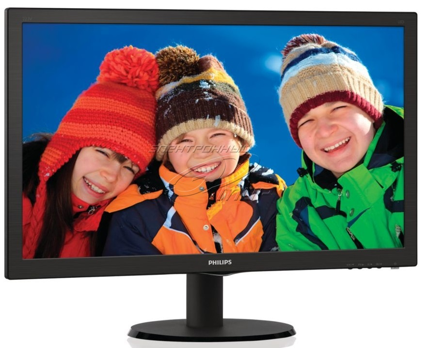 Монитор 21,5'' Philips 223V5LSB2, 1920 x1080 FHD/TN/VGA