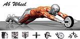 Тренажер для всего тела AB Wheel, фото 2