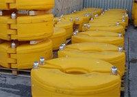 Поплавки пластиковые для дноуглубительных труб