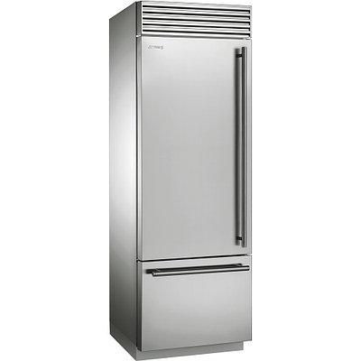 Холодильник нержавейка на 90 см Smeg RF396LSIX