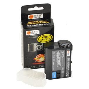 Аккумуляторы EN-EL15  на Nikon  от DSTE, фото 2