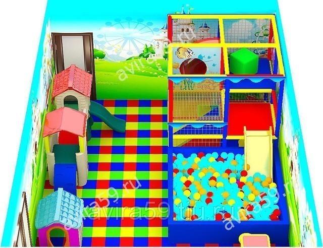 Игровые комнаты от 30 кв. м. до 60 кв. м.