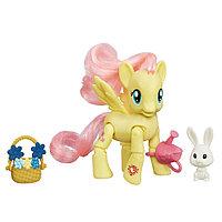 Hasbro My Little Pony Май Литл Пони Игровой набор с артикуляцией Флаттершай, фото 1