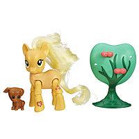 """Мини-набор """"Пони с артикуляцией"""" My Little Pony - Эплджек, фото 1"""