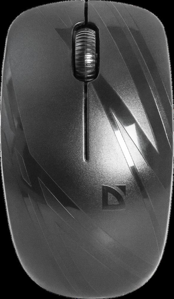 Defender 52035 Datum MM-035 Беспроводная IR-лазерная мышь (Черн c рисун) 2кн+кл, 800/1200/1600 dpi