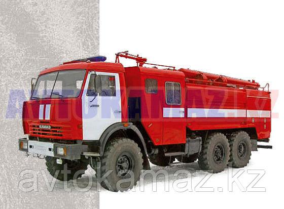 Автоцистерна пожарная КамАЗ 43118 с пожарной автоцистерной АЦ-8,0 (Сборка РК, 2013 г.)
