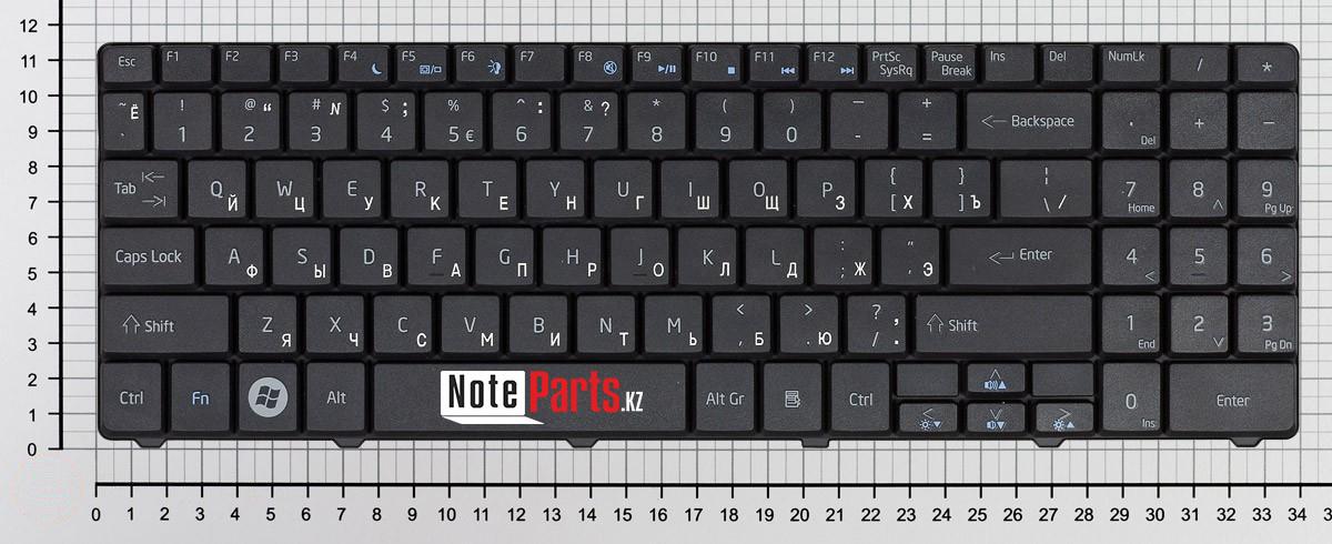 Клавиатура для ноутбука Acer Aspire 5541 / eMachines E525 / E725 RU