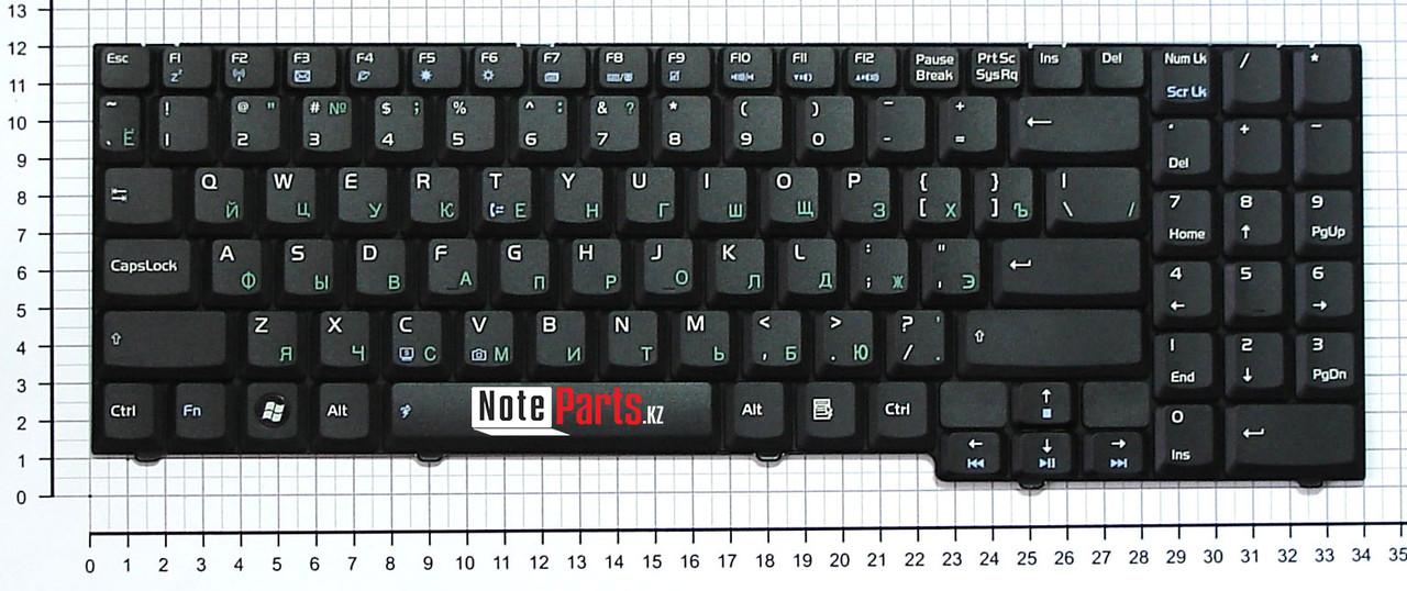 Клавиатура для ноутбука Asus M51 / F7 ENG