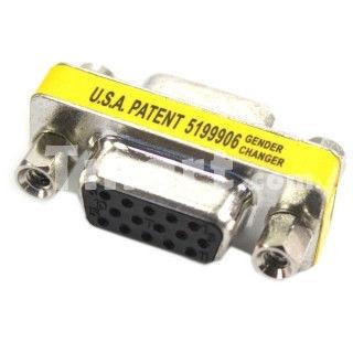 Переходник VGA мама мама 15 Pin