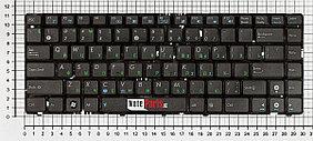 Клавиатура для ноутбука Asus A42 / K42 / K43  ENG,RU