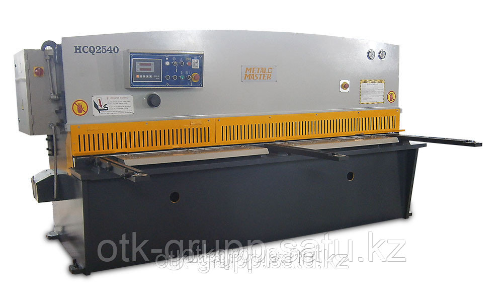 Гидравлическая гильотина с УЦИ  HCQ 4040, Metal Master