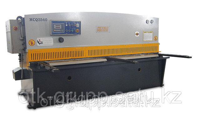Гидравлическая гильотина с УЦИ HCQ 4060, MetalMaster