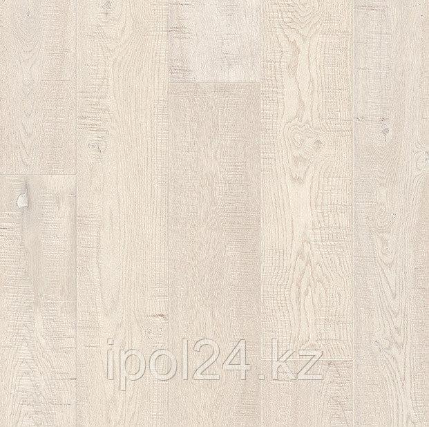 Паркетная доска Quick-Step Imperio №1627 Дуб пиленный белый промасленный