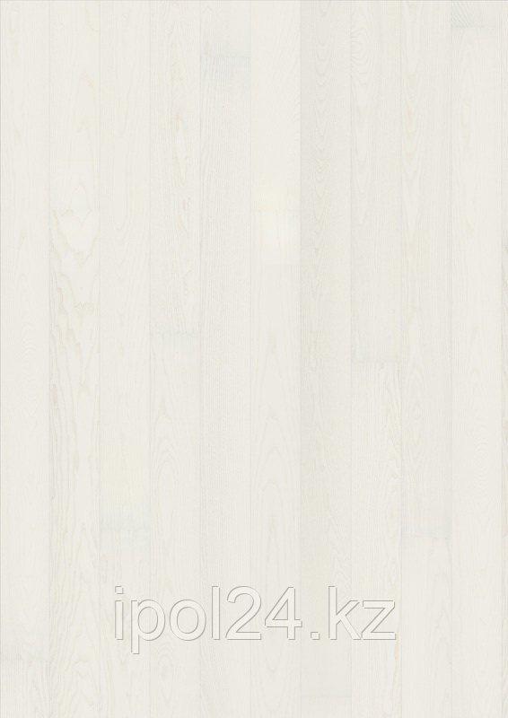 Паркетная доска Karelia Ясень STORY 138 SHINY WHITE