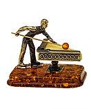 Сувенир с янтарем Бильярд, фото 2