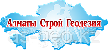 Топосъемка участка Алматы с красными линиями
