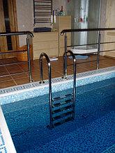 Перегородки для душевых кабин и лестницы для бассейнов, фото 3