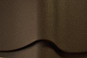 Металлочерепица Монтеррей Ral8017 (коричневый мат)