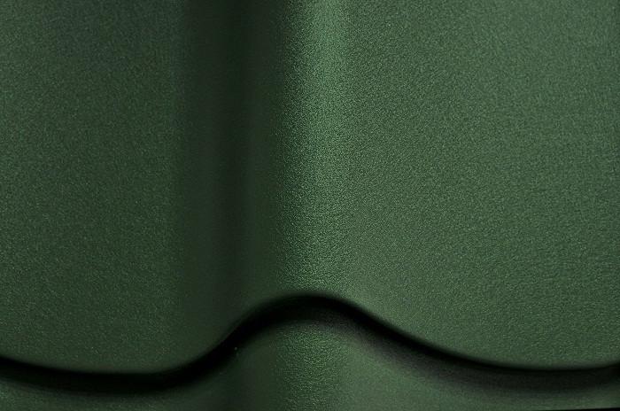 Металлочерепица Монтеррей Ral6007 (зеленый мат)