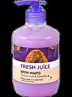 Крем-мыло c молочком  Passion fruit & Camellia