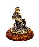 Знак зодиака Водолей. Сувениры из янтаря, ручная работа, фото 2
