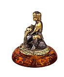 Знак зодиака Водолей. Сувениры из янтаря, ручная работа, фото 3