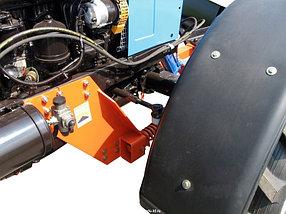 Отвал коммунальный поворотный механический универсальный на МТЗ, фото 3