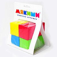 Мякиши Набор из 8 кубиков, 4 цвета