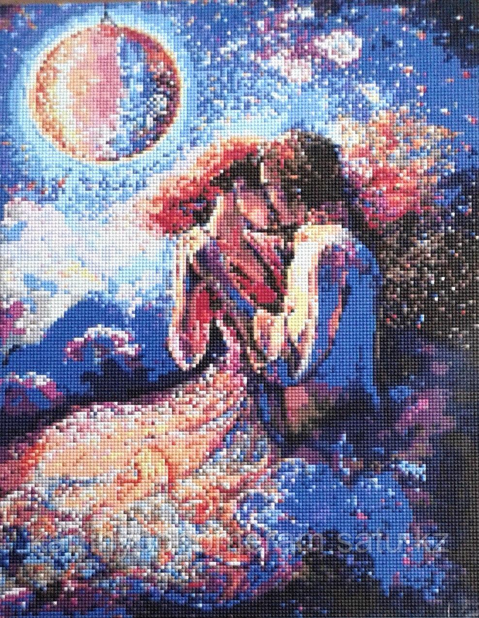 Картина стразами на подрамнике (40х50 см) A019