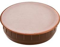 Заглушка отверстия 35 мм, пластм. коричневая, фото 1