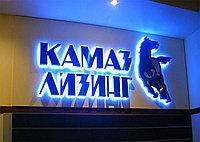 Астана буквы с подсветкой