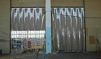 Ленточные шторы, теплоизолирующие завесы из ПВХ ширина 80 см, фото 1