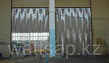 Ленточные шторы, теплоизолирующие завесы из ПВХ ширина 80 см