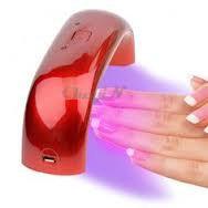Mini LED-лампа для сушки гель-лака