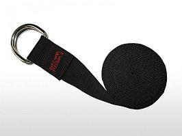 Ремешок для йоги 304 см, черный FT-YSTP-BLACK